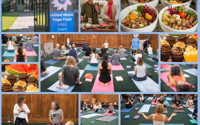 International Yoga Day in Brighton… Friends Meeting House 16/06/18