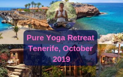 Pure yoga retreat, Tenerife – October 2019